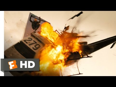 Live Free or Die Hard (1/5) Movie CLIP - Helicopter Meets Car (2007) HD