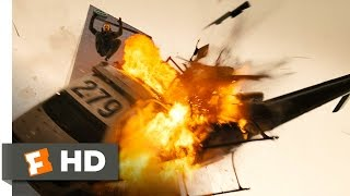 Live Free Or Die Hard 1 5 Movie CLIP Helicopter Meets Car 2007 HD