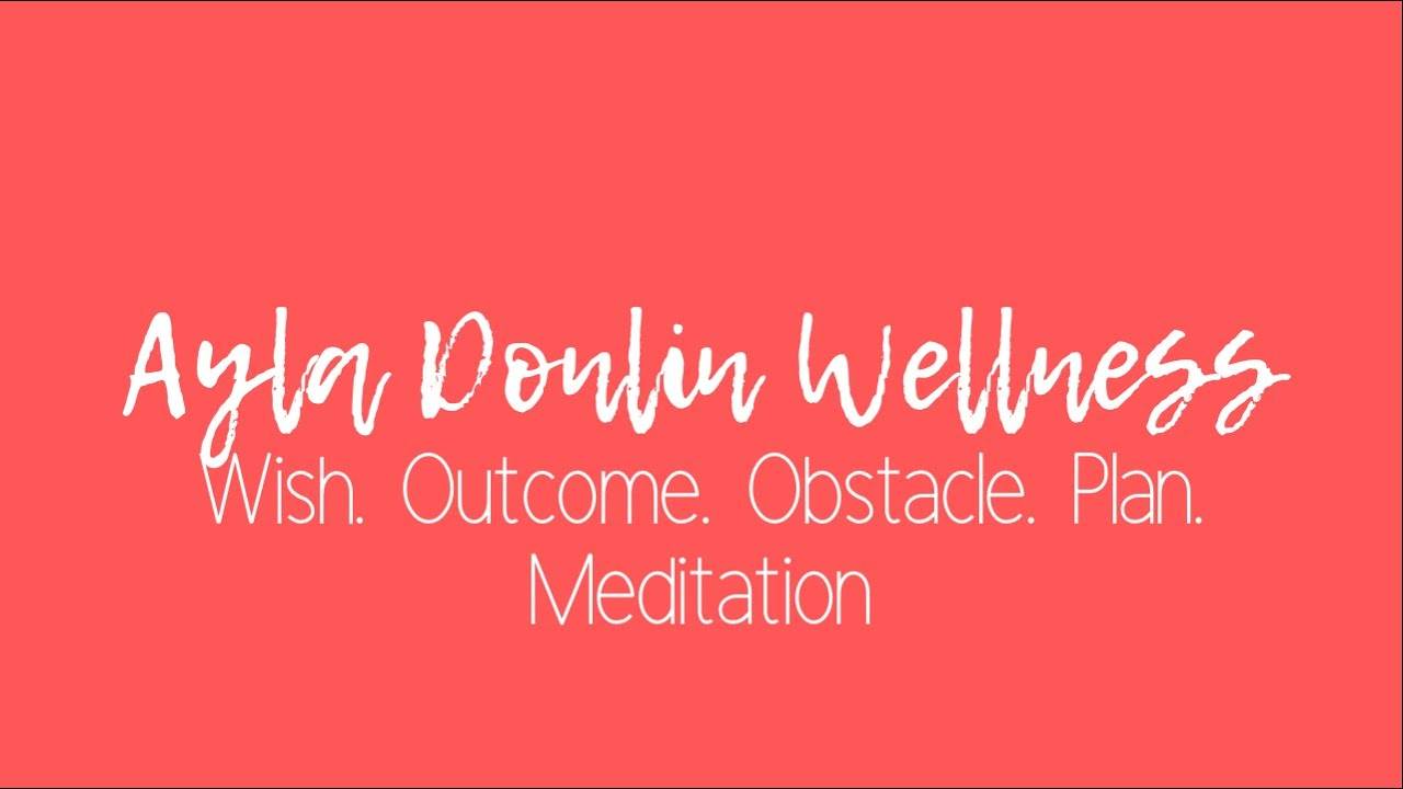 WOOP Meditation