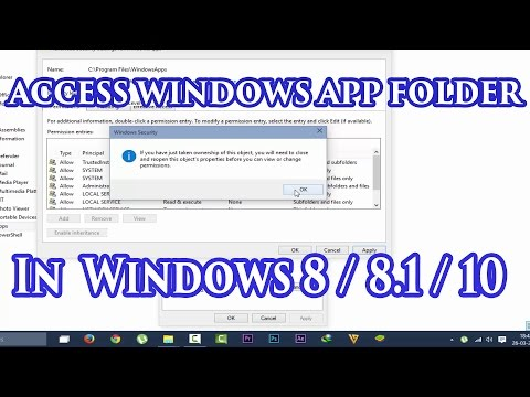 How To Access Windows App Folder In Windows 7 / 8 / 8.1 / 10