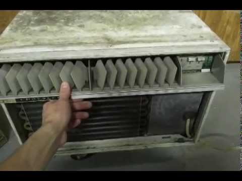 Late 50s Chrysler Airtemp Imperial Air Conditioner Before
