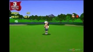 Hot Shots Golf - Gameplay PSX / PS1 / PS One / HD 720P (Epsxe)