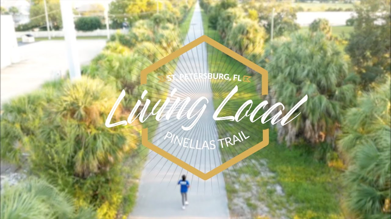 Riding the Pinellas Trail