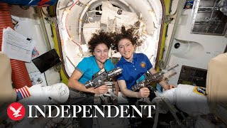 Nasa is making history with the first ever all-female spacewalk