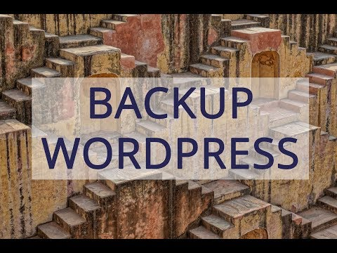 How to backup wordpress site to computer?