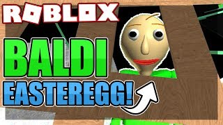 How to get the BALDI BASIC EASTER EGG BADGE | Roblox Granny