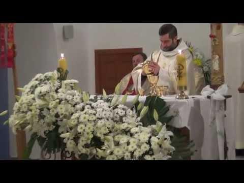Starokonstantynów - komunia święta na Eucharystii