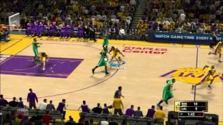 NBA2K13 - Comentaristas en Español - Lakers Vs Celtics