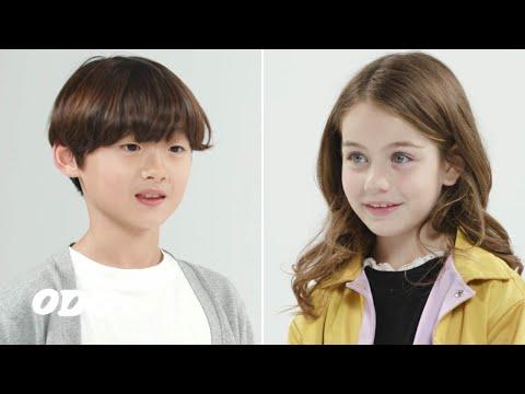 한국아이가 미국아이를 처음 만나면 하는 말 | Hyunho\u0026Carson EP1 | ODG