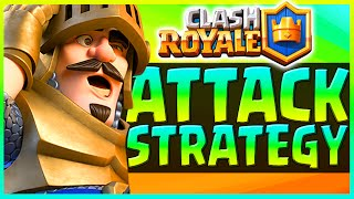 Clash Royale - ATTACK STRATEGY - Clash Royale Level 4 Attack Strategy (Clash Attack Strategies)