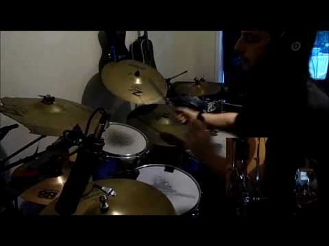 Over The Mountain by Ozzy Osbourne-Drum cover by Tommy Dalo