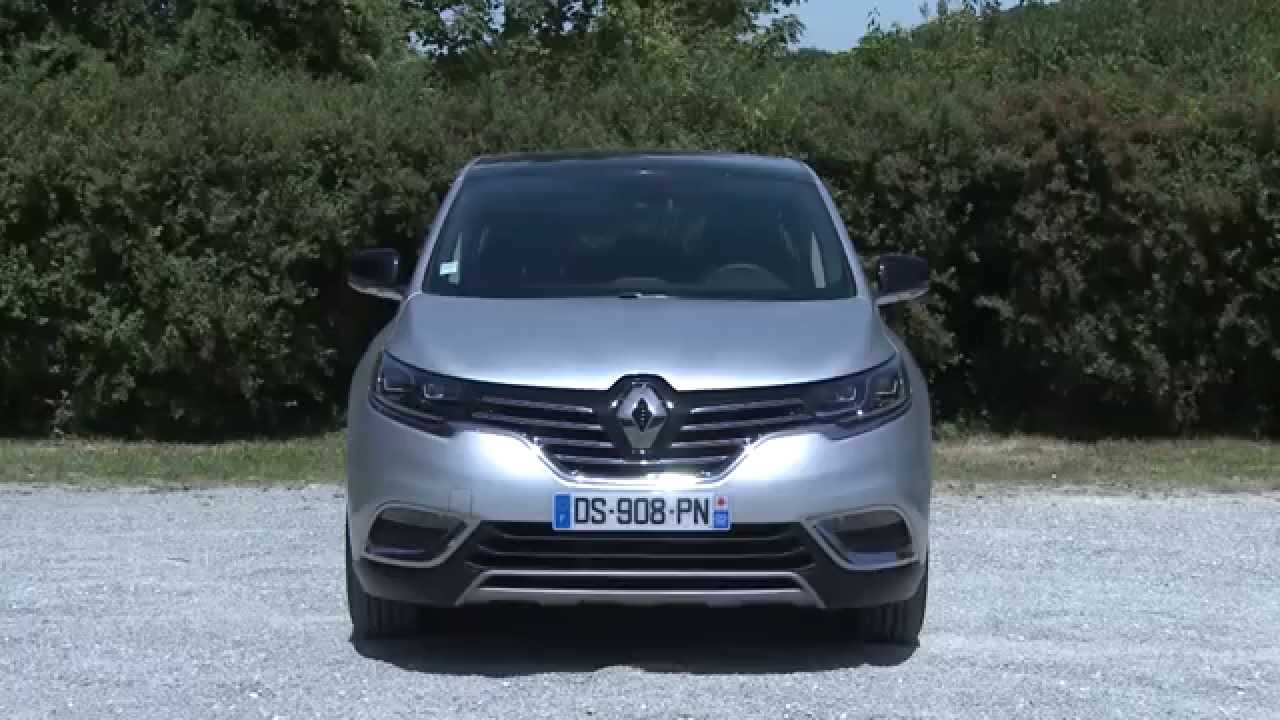 essai renault espace v dci 130ch life youtube. Black Bedroom Furniture Sets. Home Design Ideas