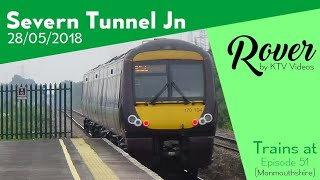 Trains at Severn Tunnel Junction, SWML - 28/5/18