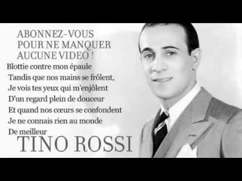 Tino Rossi   Marinella   Paroles (lyrics) karaoké