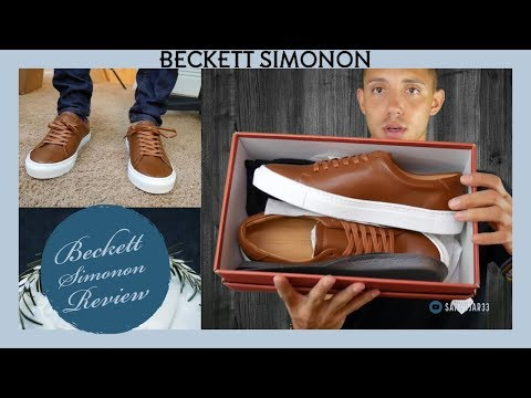 Beckett Simonon Review - Best Leather Sneakers