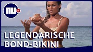 Zien: James Bond-bikini Ursula Andress moet 425.000 euro opbrengen op veiling