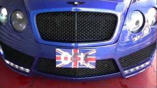 MANSORY BENTLEY CONTINENTAL GTC BLUE CUSTOM OFFICE-K TOKYO