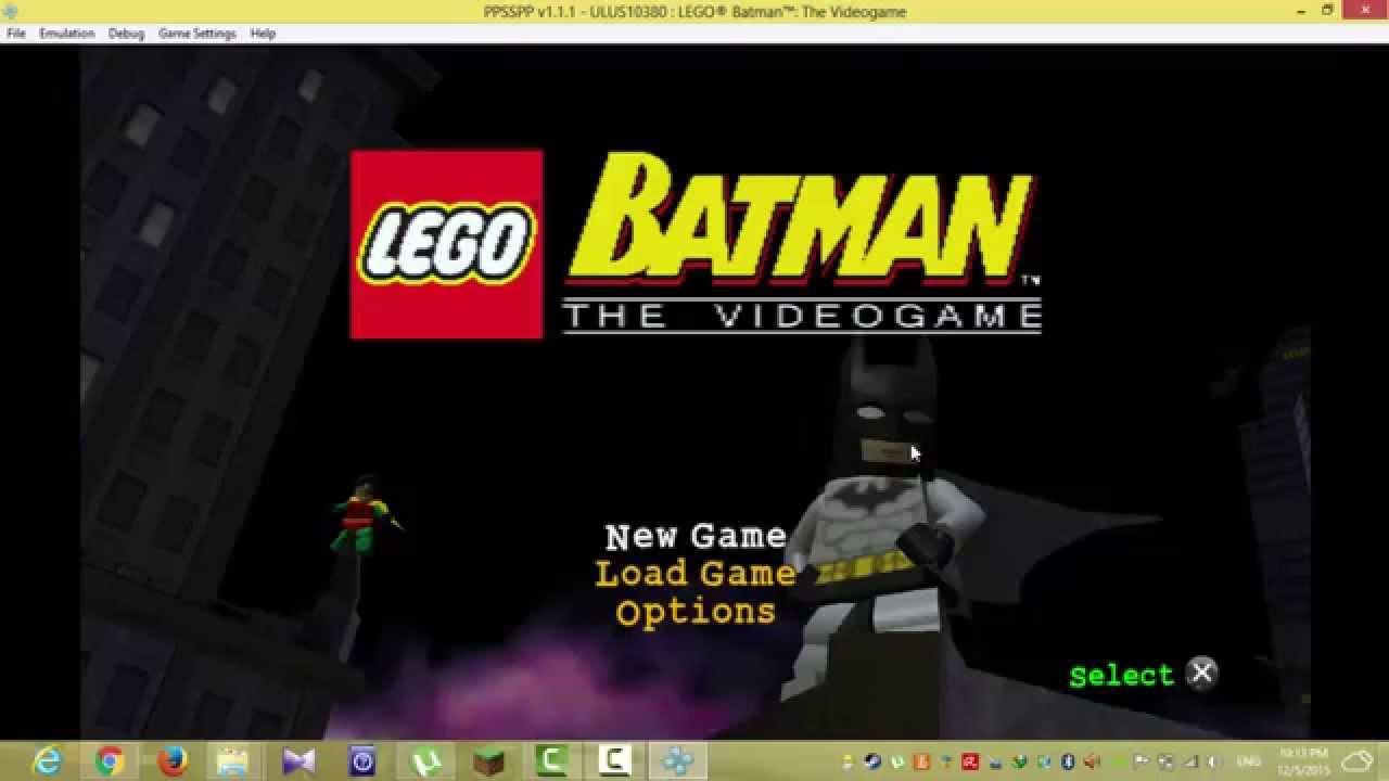 تحميل لعبة lego batman للاندرويد