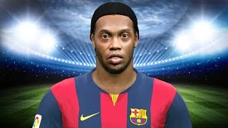RONALDINHO no BARCELONA - PES 2015 PC Patch JVPES 2.0 (Barcelona vs Orlando City)