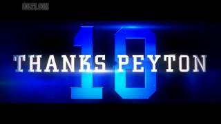 Broncos vs Colts Peyton Manning Tribute Video