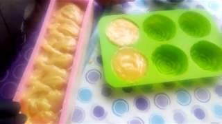 Мыло на молоке с медом//рецепт