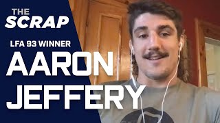 Aaron Jeffery aiming to fight UFC Kyle Stewart next for vacant LFA belt