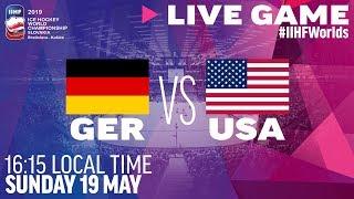 Germany vs. USA | Full Game | 2019 IIHF Ice Hockey World Championship
