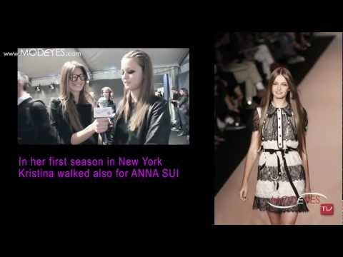 KRISTINA  ROMANOVA - TOP MODEL INTERVIEW (HD)