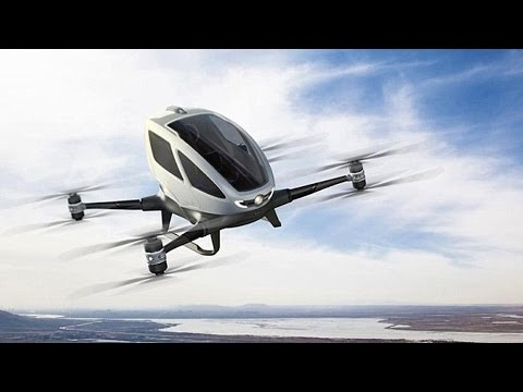 The drone revolution: Dubai plans to introduce taxi drones; Ambulance drones and more – Compilation