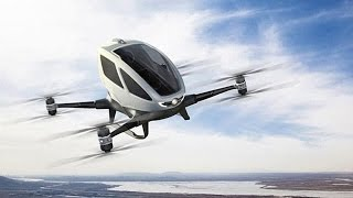 The drone revolution: Dubai plans to introduce taxi drones; Ambulance drones and more - Compilation