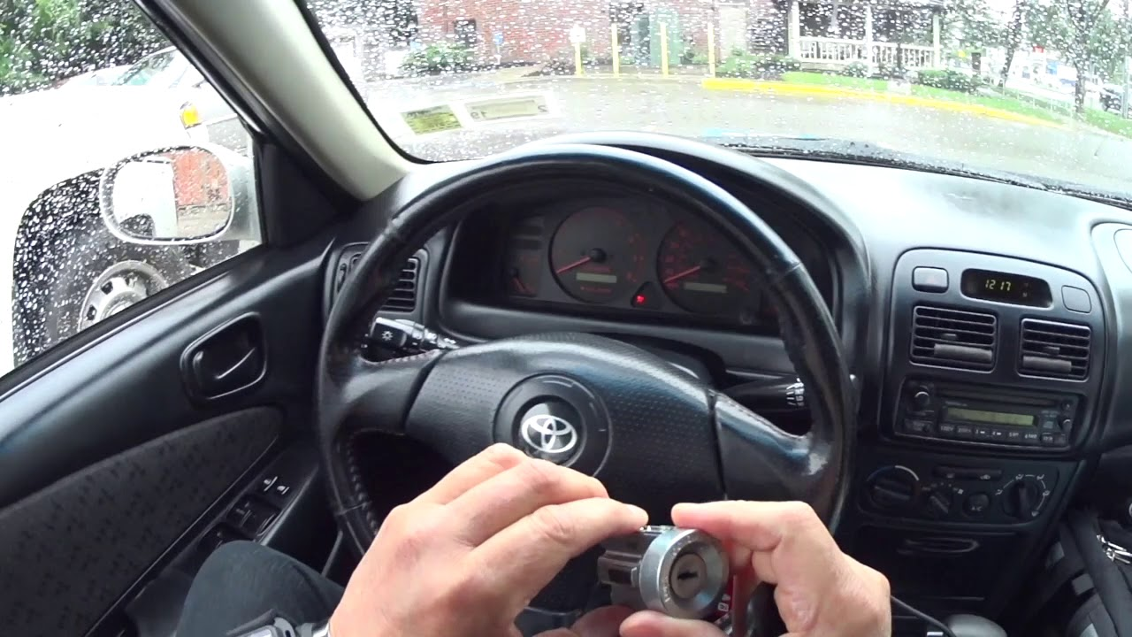 1999 toyota corolla ignition switch replacement