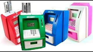 Идея для подарка , Прикольная Копилка банкомат обзор