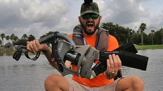 Hobie Mirage Pro Angler 12 with 360 Drive Technology WATER DEMO iCast 2019