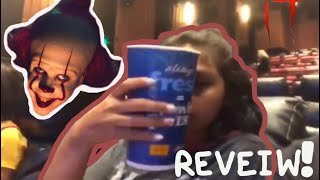 """""""It"""" movie and Movie Tavern review"""