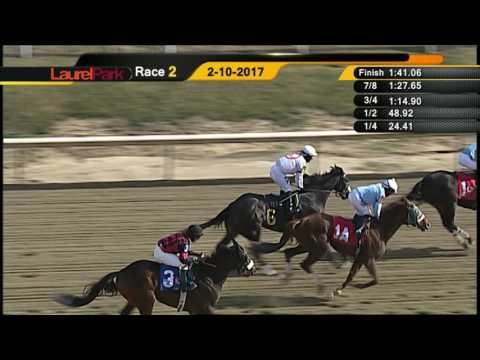 Laurel Park 2 10 17 Race 2