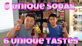6 Unique Sodas. 6 Unique Tastes [Bacon Soda, Apple Pie, Ranch Dressing Soda, Coffee Soda]