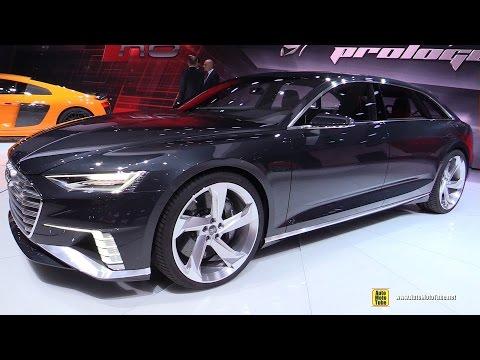 Audi Prologue Avant Concept - Exterior Walkaround - 2015 Geneva Motor Show