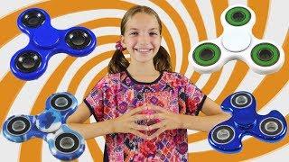 Супер #Челлендж от #ЛучшаяподружкаСвета: какой Спиннер круче? Видео для девочек