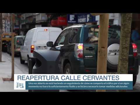 Apertura calle Cervantes
