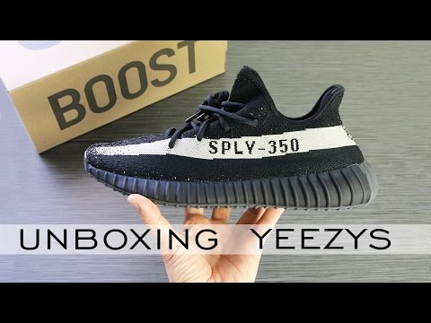 YEEZY BOOST 350 V2 BLACK WHITE | Oreos Unboxing Review | Alex Costa