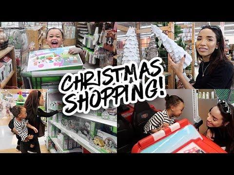 MOM VLOG | Christmas Gift Shopping + GIVEAWAY!