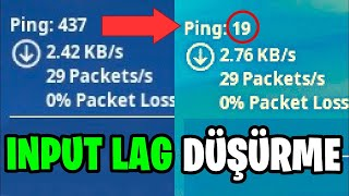 PLAY WITH 0 DELAY !! FORTNITE INPUT LAG REDUCTION GUIDE 2021 (Fortnite Turkish)