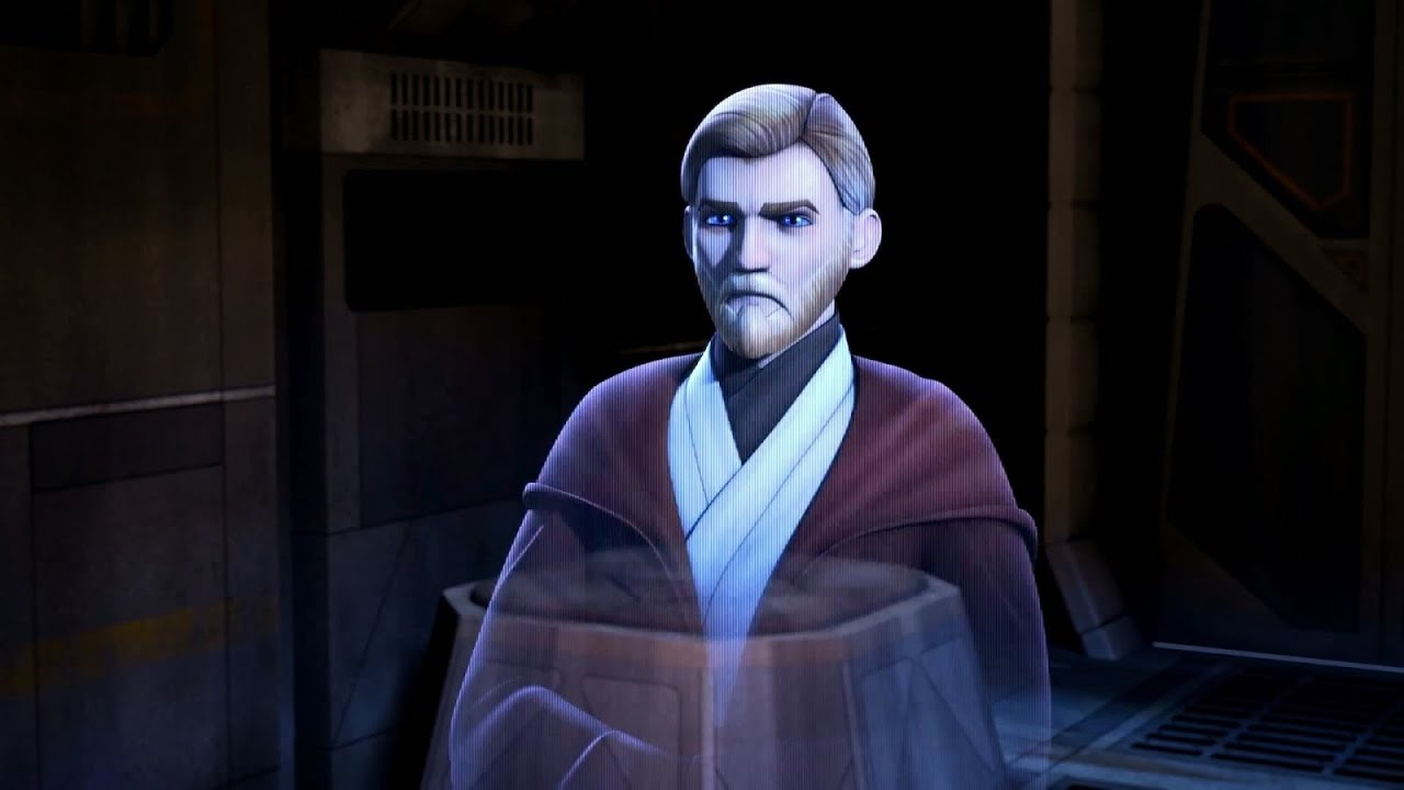 Obi Wan In Star Wars rebels (Throwback S1E1) - YouTube