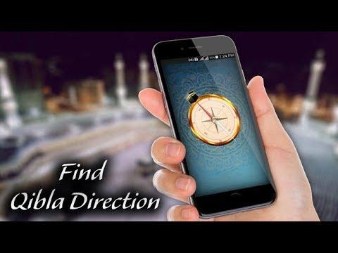 Qibla Direction Finder Compass