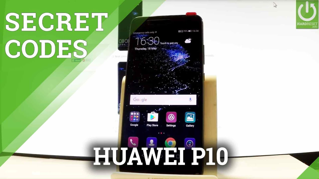 HUAWEI P10 CODES / Secret Menu / Advanced Options / Tricks