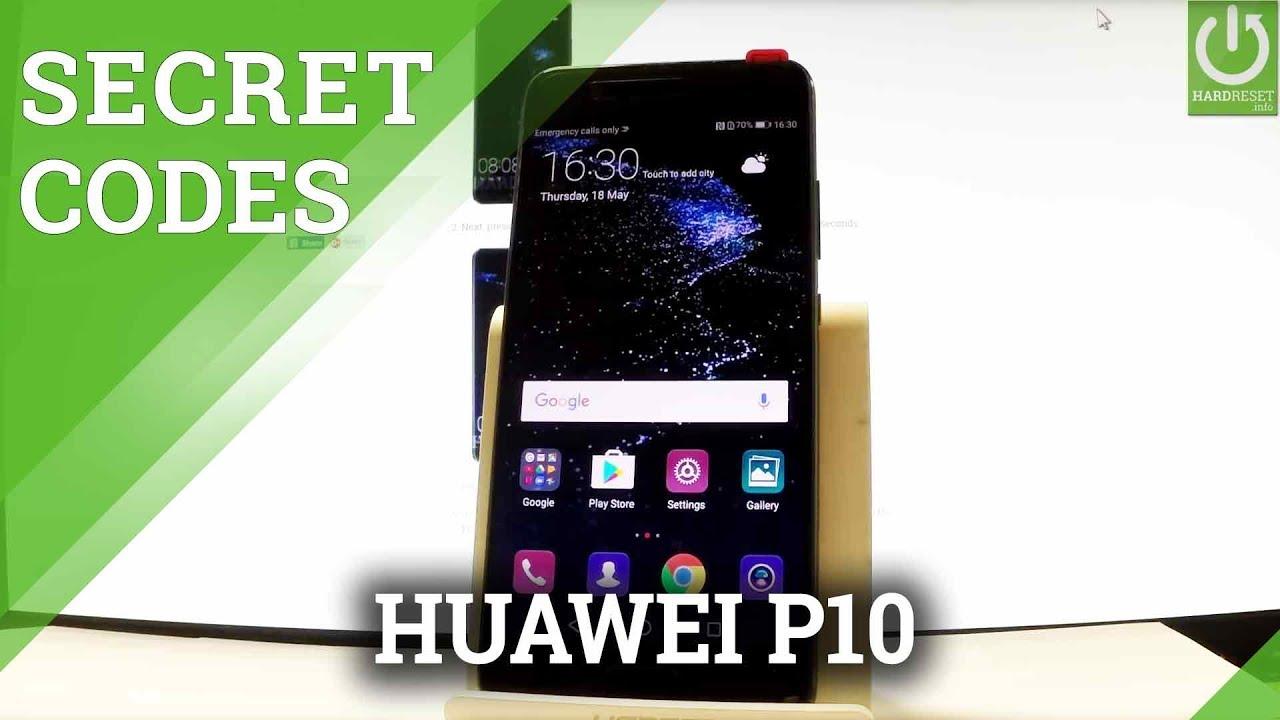 HUAWEI P10 CODES / Secret Menu / Advanced Options / Tricks ...
