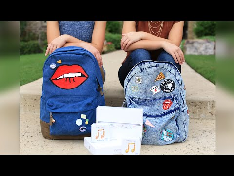What's in Our Backpacks  | Back-to-School 2016 | Brooklyn and Bailey