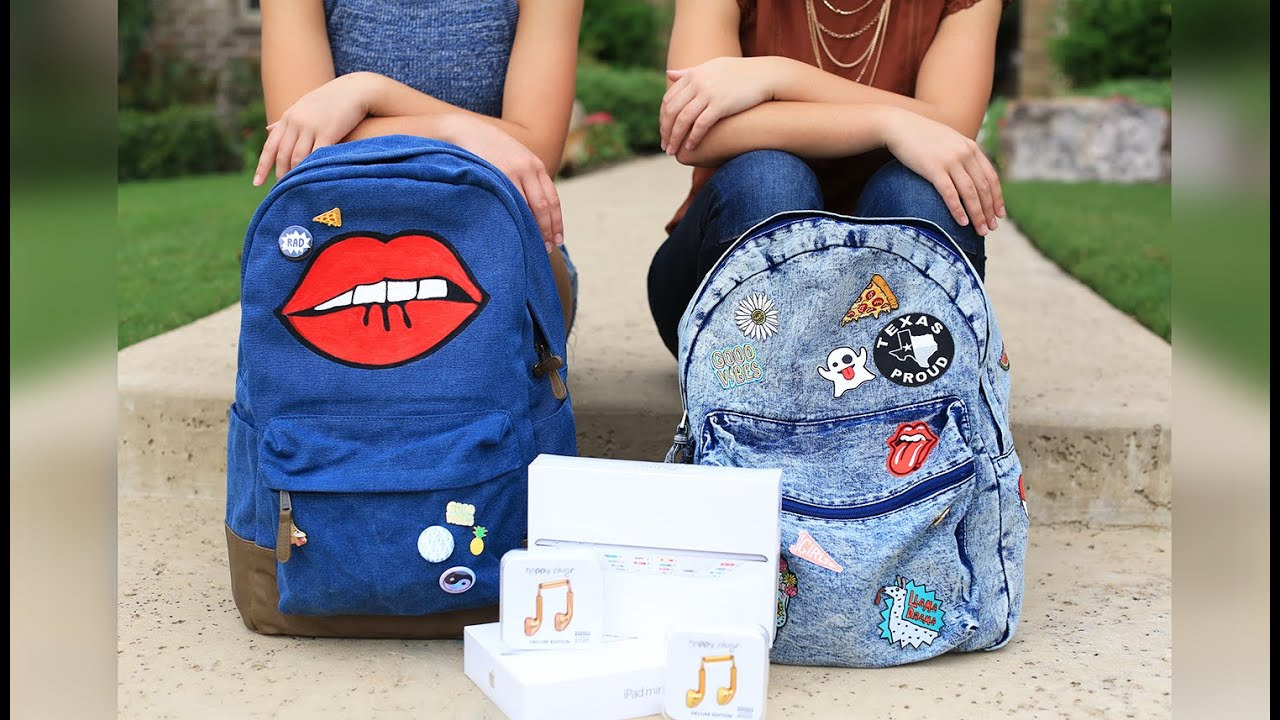 What's in Our Backpacks | Back-to-School 2016 | Brooklyn and ...