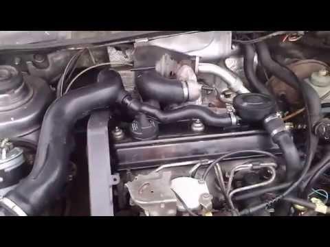 Двигатель 1,9 TD (AAZ) и его работа| Engine 1.9L Diesel AAZ