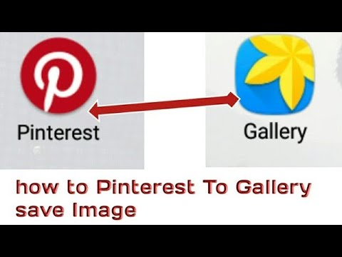 How To Get Download Images From  Pinterest to mobile Gellry Full Video By Deepu Technicall {Part:-1}